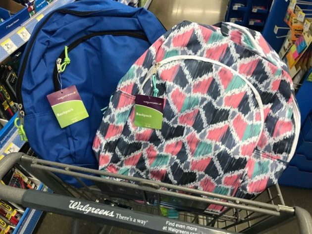 Walgreens Backpacks