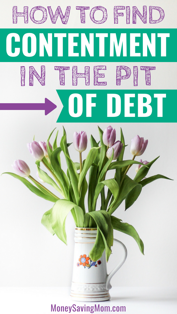 In the pit of debt and feeling overwhelmed? Read this for encouragement!