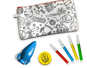 Free Color Your Own Pencil Pouch at JCPenney Stores on August 18, 2018