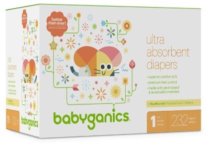 photograph about Babyganics Coupon Printable identify Significant Expense $5/1 Babyganics Box Diaper Printable Coupon