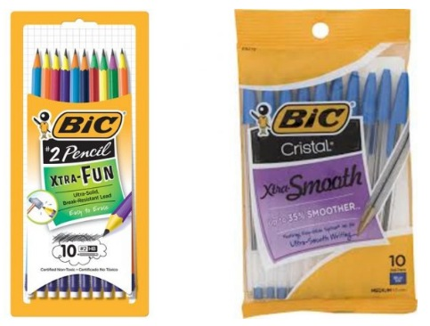 BIC Stationery Items only $0.77 at Walmart!