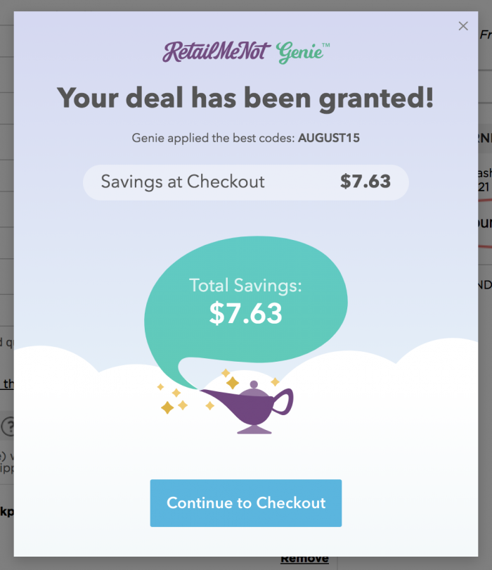 Stretch your online shopping savings with RetailMeNot +