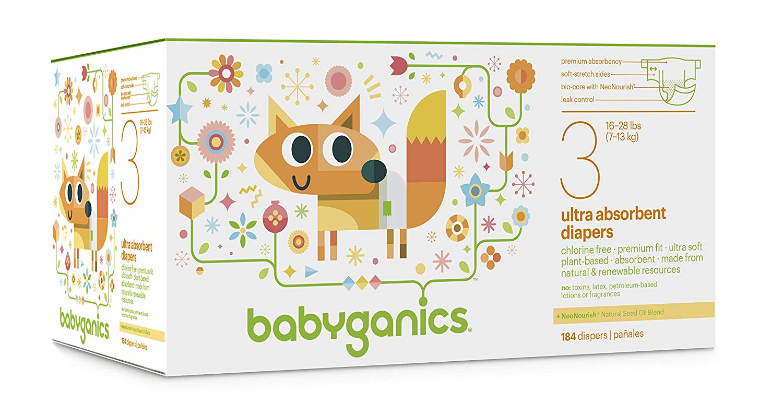 photo about Babyganics Coupon Printable called Superior Price tag $5/1 Babyganics Diaper Printable Coupon \u003d Club