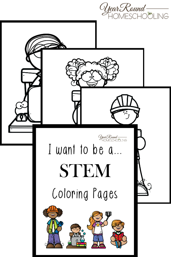 stem coloring pages Free Printable