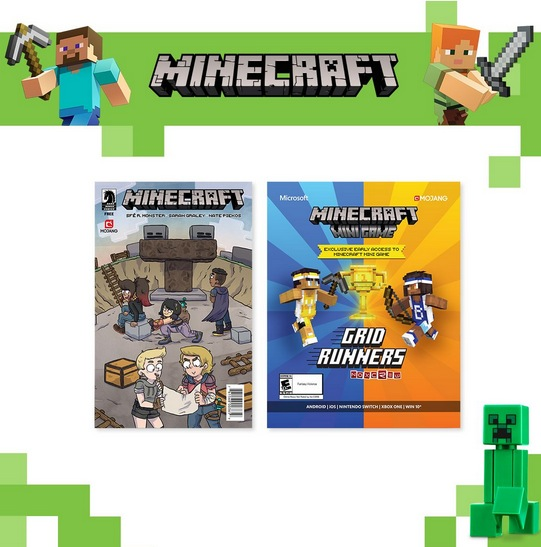 Free Minecraft Event At Target On September Jomaliabandcom - Minecraft hauser klein