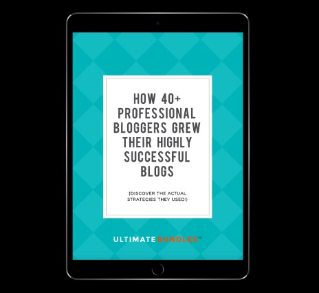 Free Ebook: How 40+ Professional Bloggers Grew Their Highly Successful Blogs