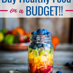 Can you eat healthy on a budget? Absolutely!! Here's how!