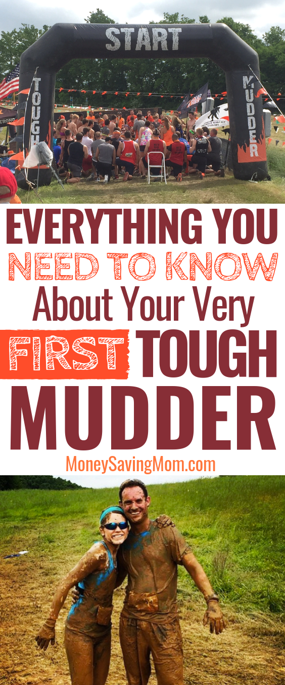 Nervous about your first Tough Mudder Race? Here's everything you need to know -- SUPER helpful!!