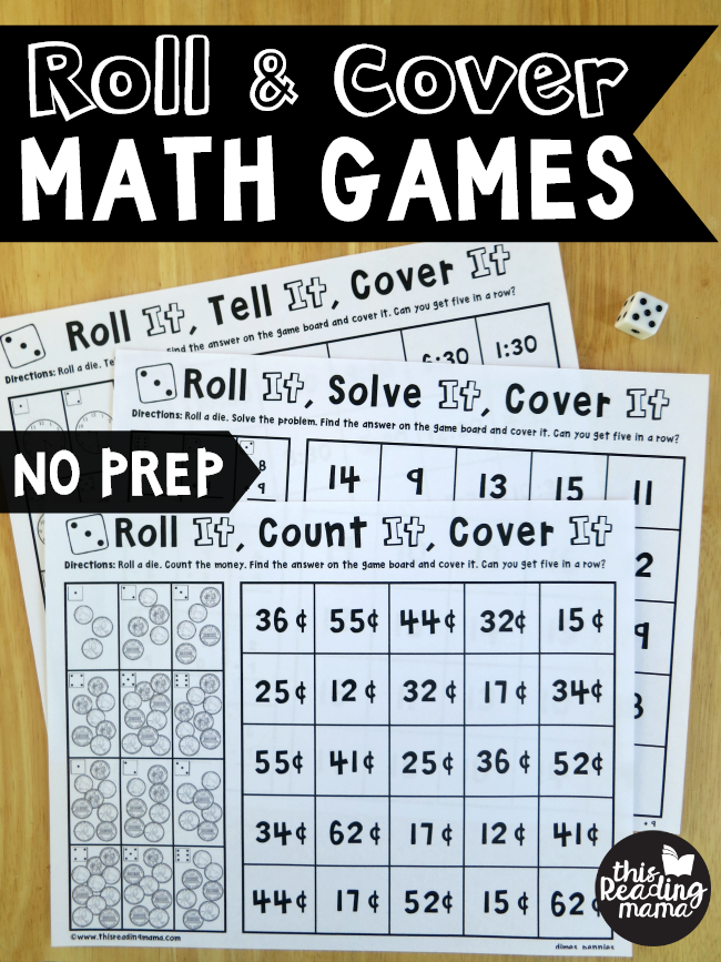 photograph about Printable Money Games named Free of charge Printable Roll Go over Math Video games - Economic Preserving Mother