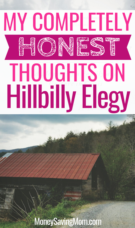 Curious about reading Hillbilly Elegy? These is a great, honest review!!
