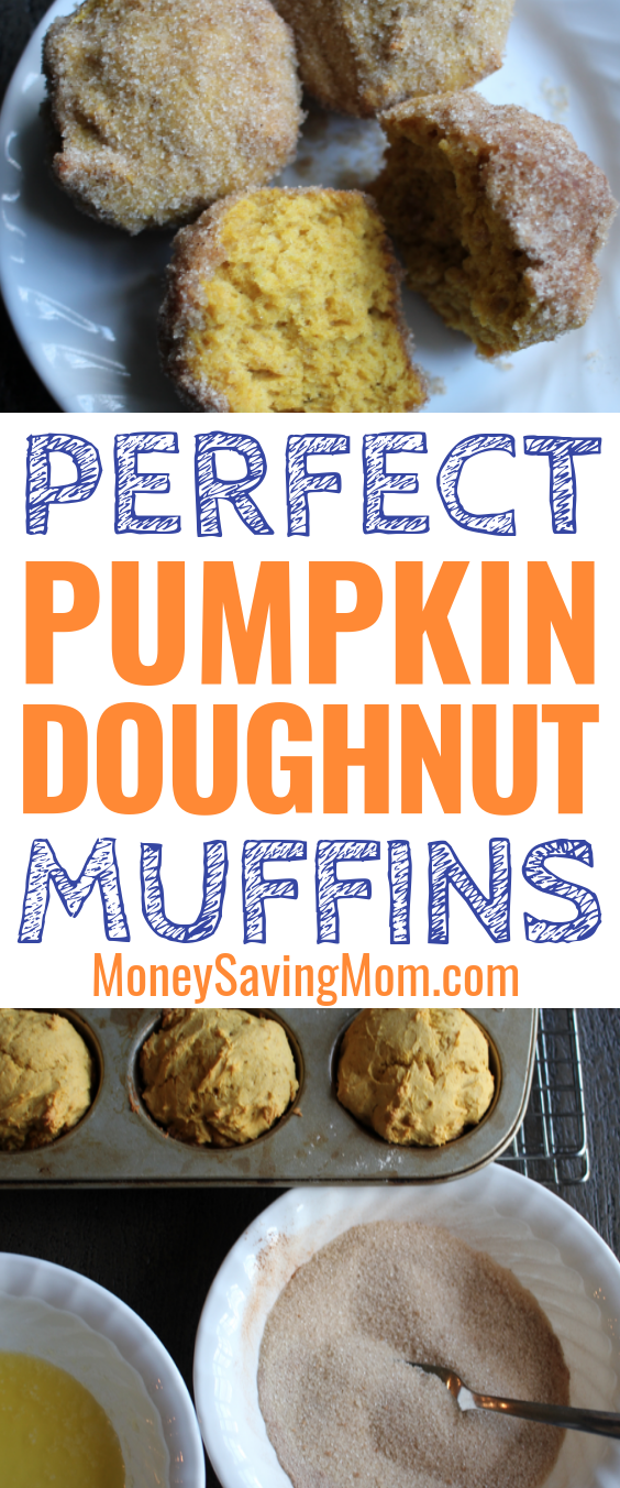 Pumpking and doughnuts mixed together? Yes, please!!