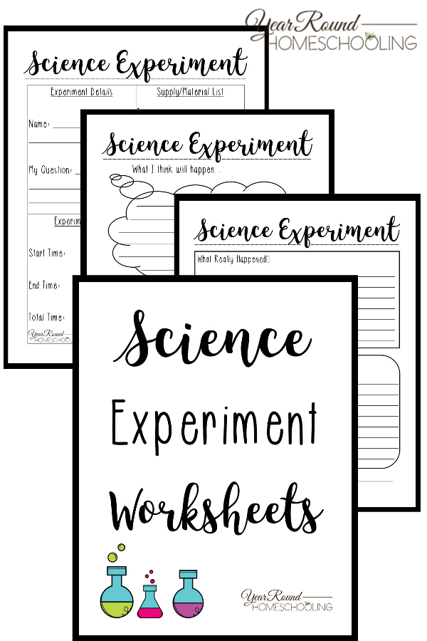 Free Printable Science Experiment Worksheets | Money ...