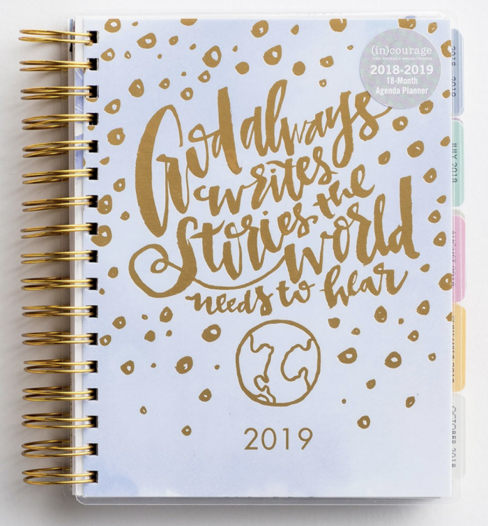 In Courage 2019 Agenda Planner For Just 20 Shipped Money Saving