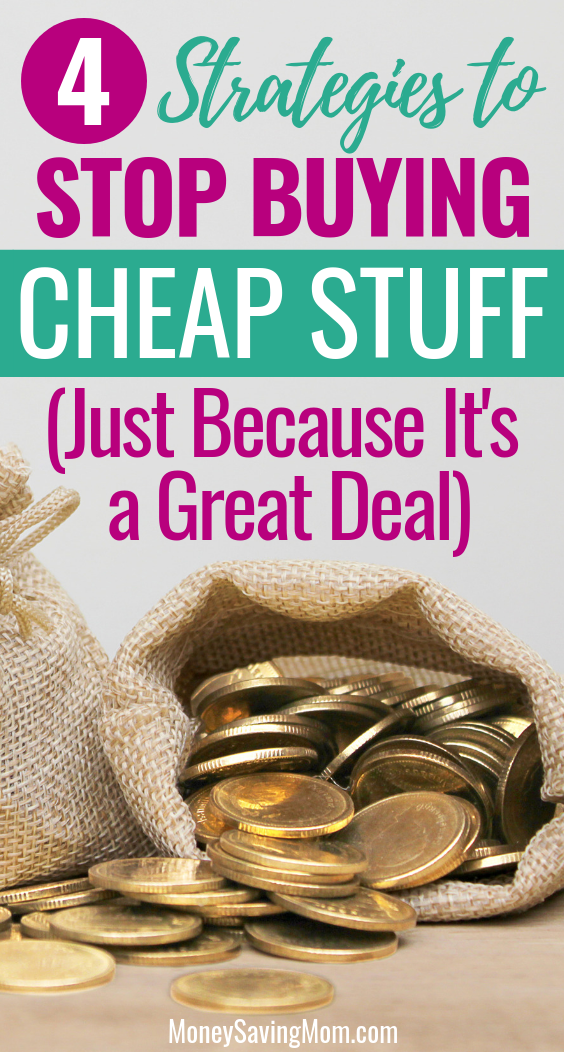 Trying to stick to your budget but keeping getting pulled in by great deals? Here's how to stop the cycle!
