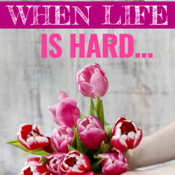 Has life made it hard for you to be thankful lately? Read this for encouragement!