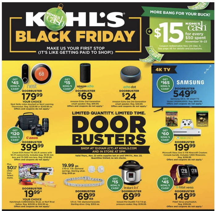 952b8a12d7a Kohl's Black Friday Ad 2018 - Money Saving Mom® : Money Saving Mom®