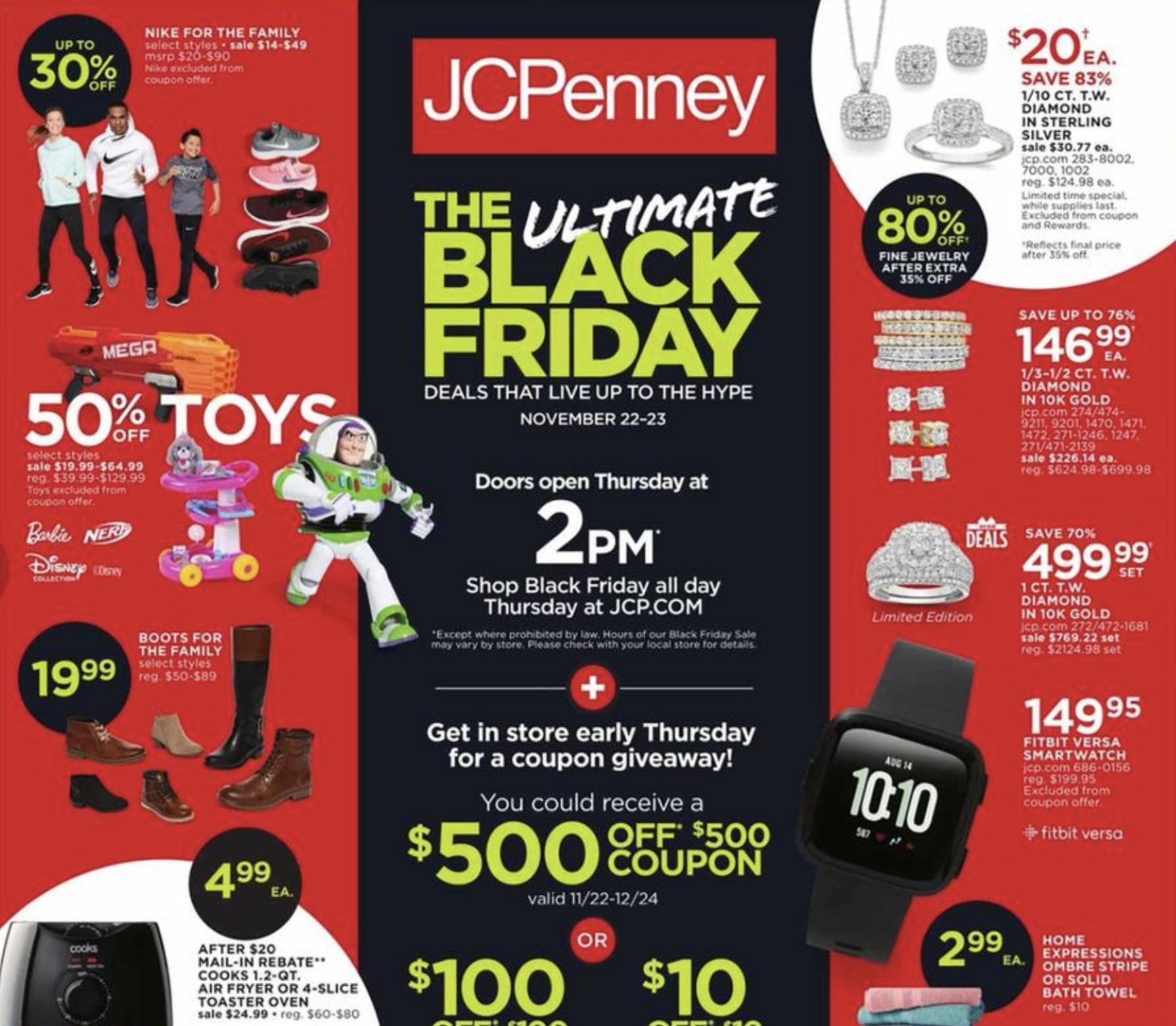 Jcpenney Black Friday Ad 2018 Money Saving Mom