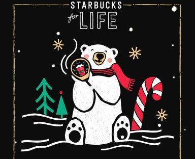 Starbucks for Life Instant Win Game