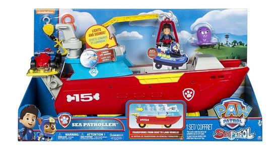 PAW Patrol Sea Patroller Transforming Vehicle only $24.88 shipped (Reg. $60!)