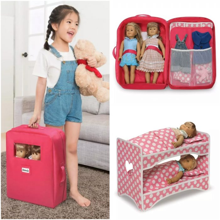 Double Doll Travel Case With Bed For Just 29 99 Shipped