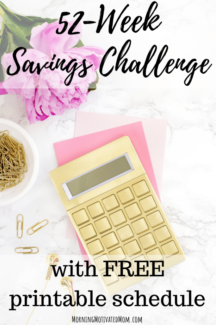 want help putting more money in savings this year download one of these free printable 52 week money saving challenges