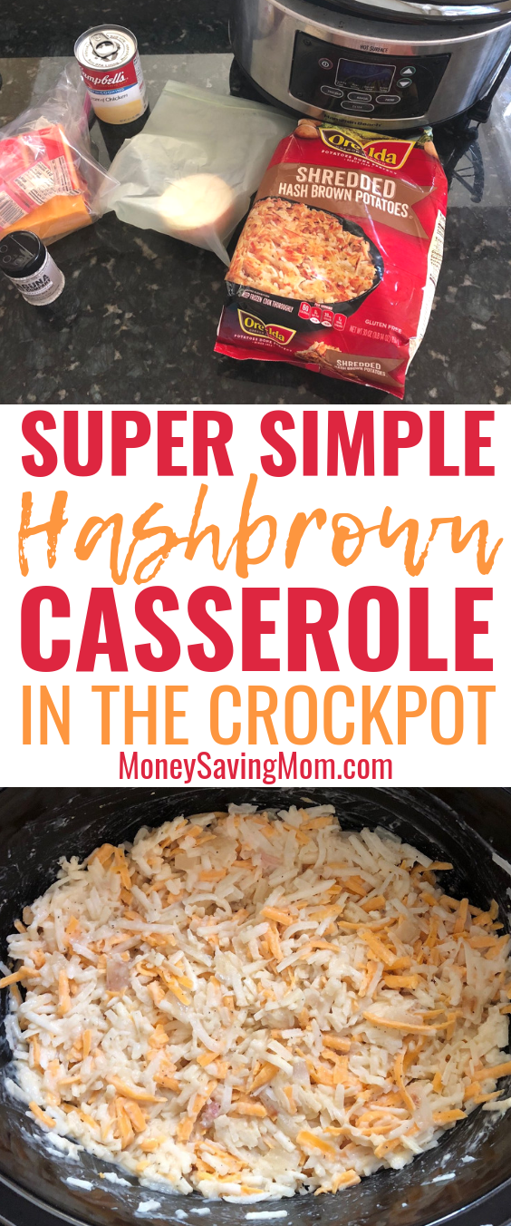 This Hashbrown Casserole is SO simple -- even when you feel like you're missing ingredients!