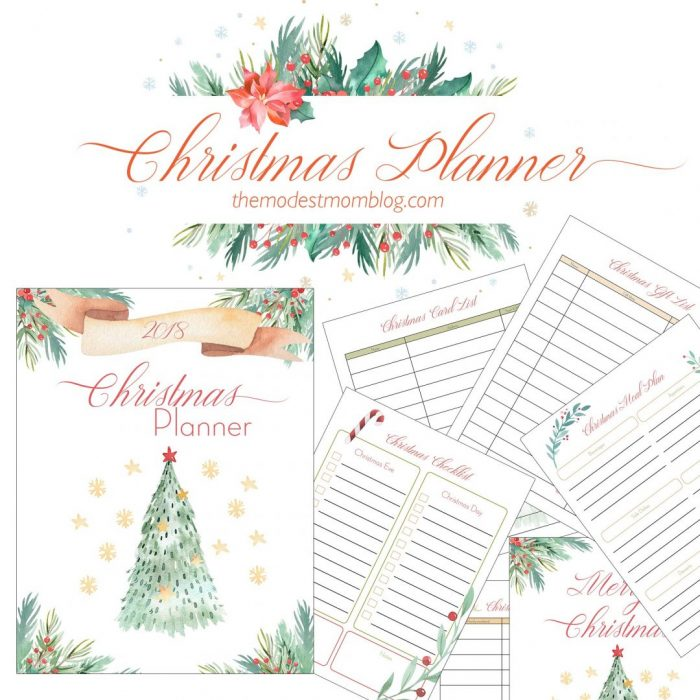 picture relating to Christmas Planner Printable named Free of charge Printable Xmas Planner - Dollars Conserving Mom® : Economical