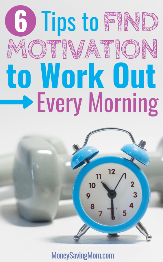 Struggling to work out each morning? Read this for motivation and practical tips!