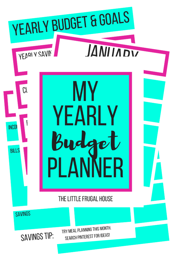 free printable yearly budget planner