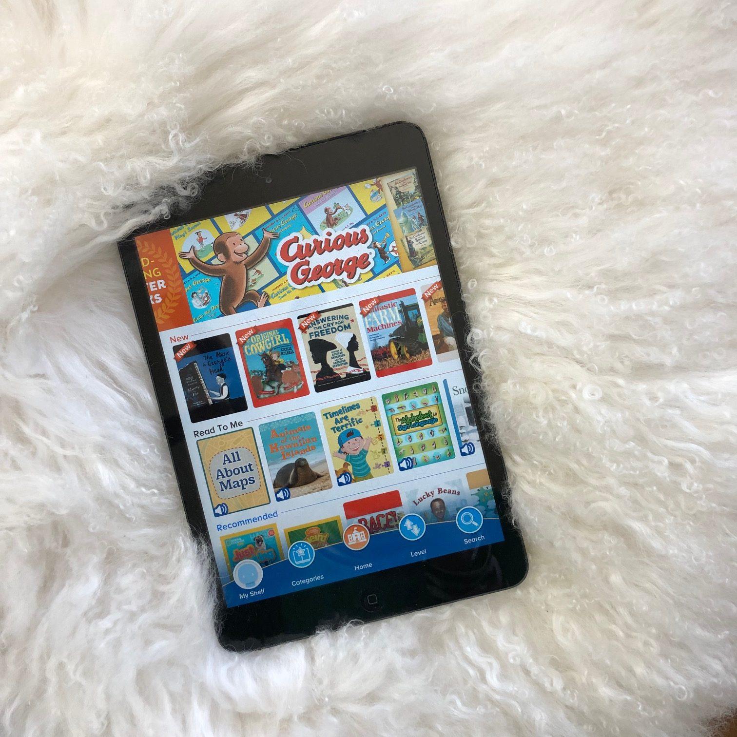ReadingIQ app variety