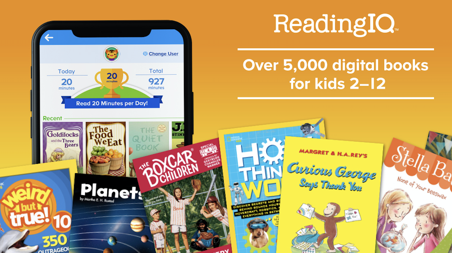 ReadingIQ for all kids