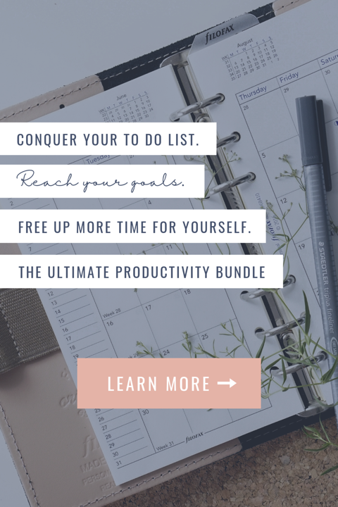 productivity bundle of resources