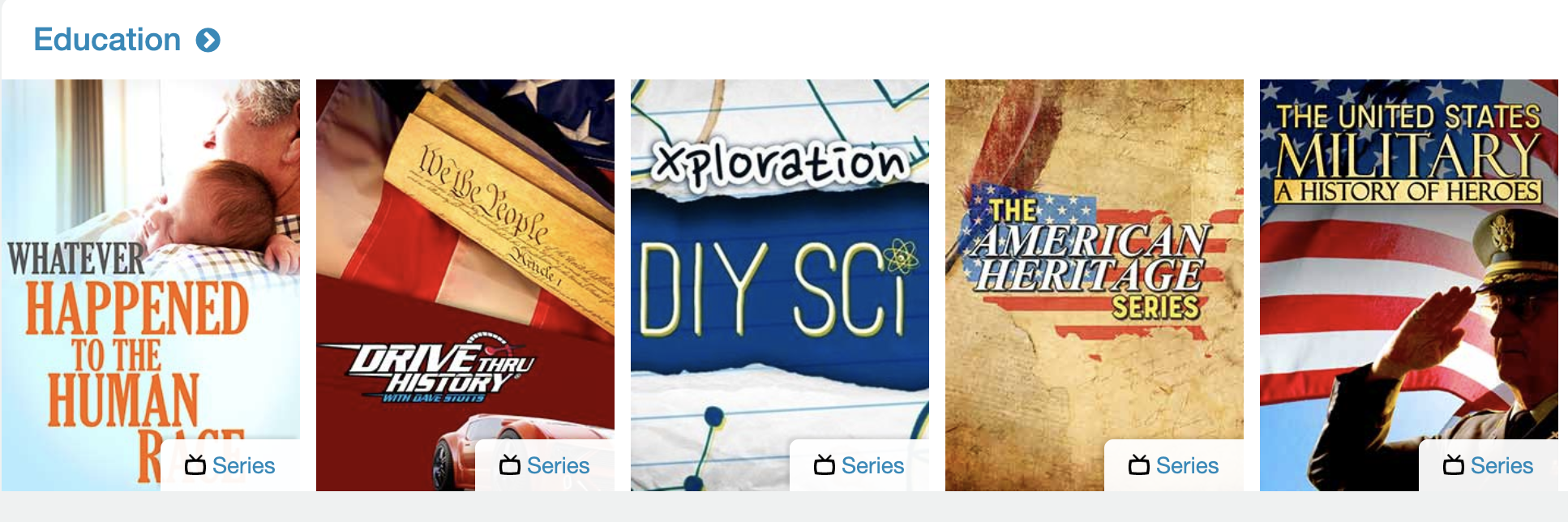 educational shows on Pure Flix