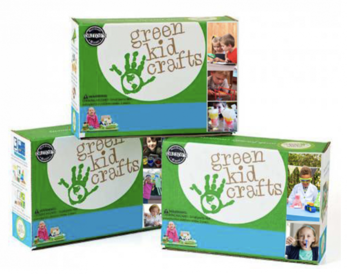 Green Kid Crafts Boxes