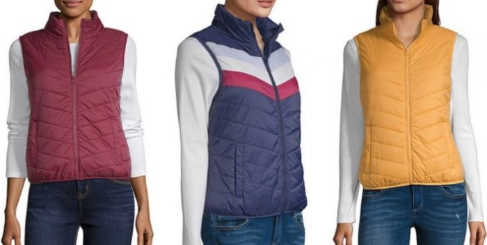 af7d658c575d Arizona Women s Puffer Vests only  6.74 at JCPenney (Reg.  39 ...