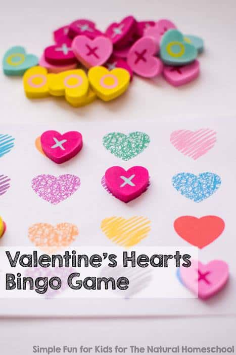 image about Printable Valentines Hearts named Absolutely free Printable Valentines Hearts Bingo Video game - Dollars Conserving