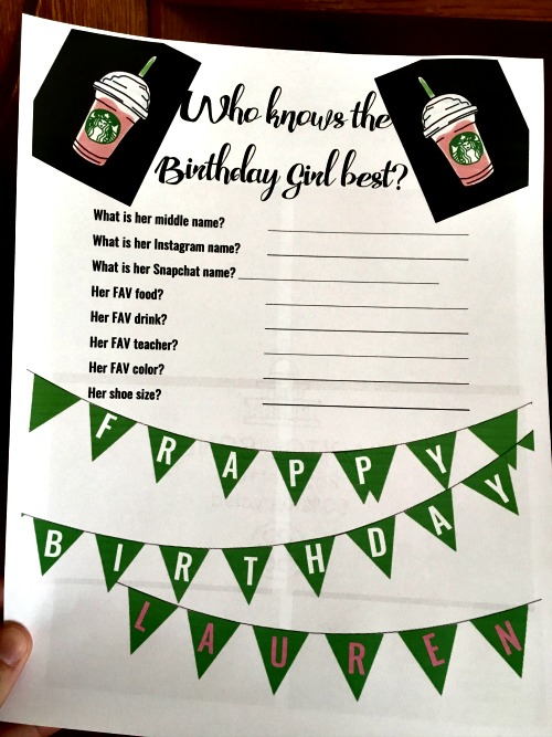 How to Throw a Starbucks Birthday Party on a Budget