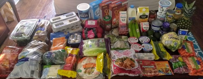 ALDI grocery shopping trip