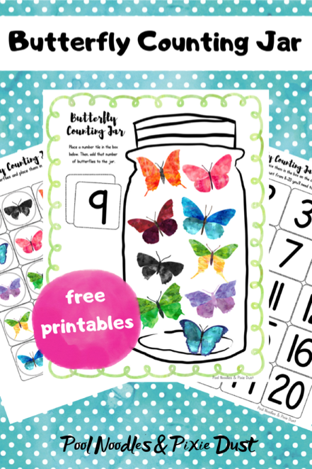 Butterfly Counting Jar Activity