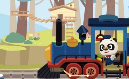 Dr. Panda Train App
