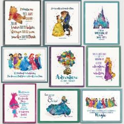 Enchanted Quotes and Characters Prints