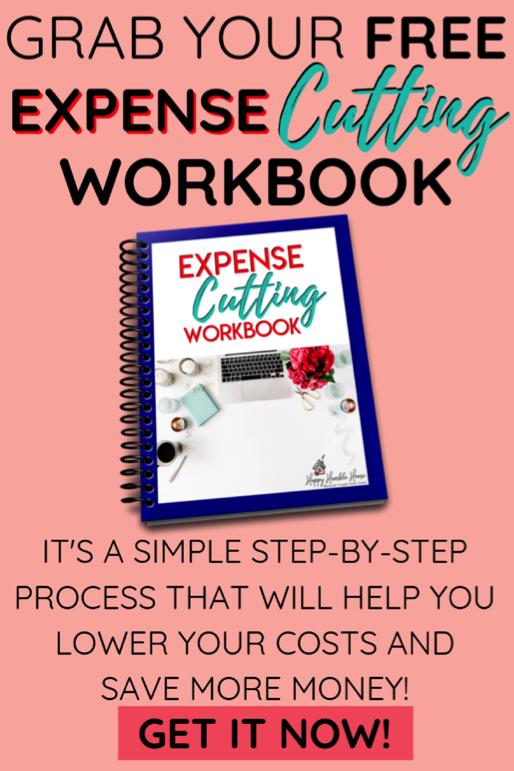 Free Expense Cutting Workbook