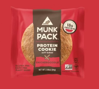 Free Munk Pack Snickerdoodle Cookie