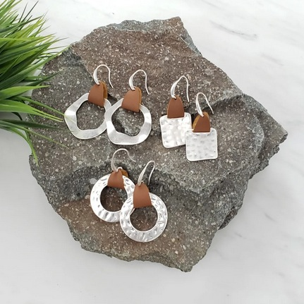 Hammered Earring Collection