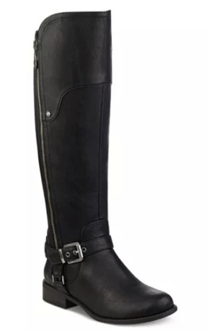 23746a2a063 Get these G by GUESS Harson Wide-Calf Tall Riding Boots for only  22.50  after the promo code (regularly  89)!