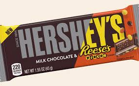 Hershey's with Reese's Pieces Candy Bar