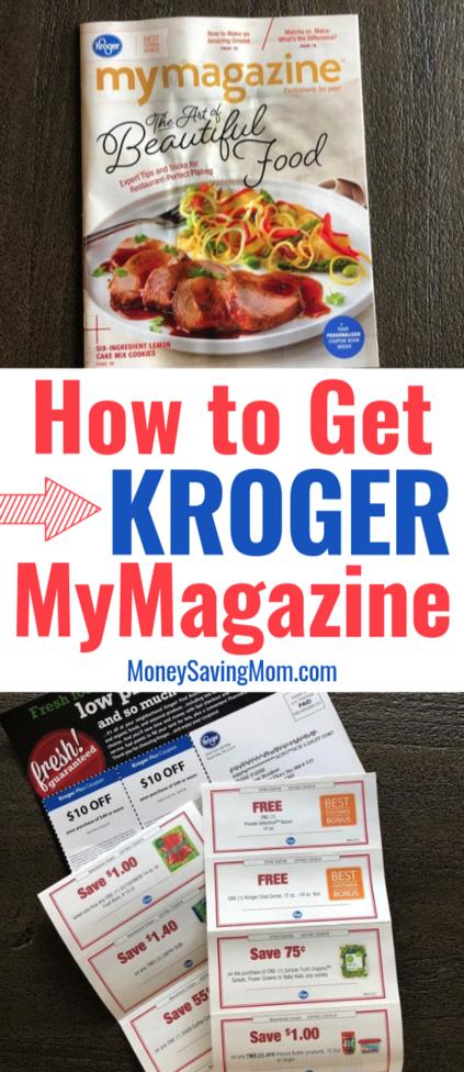 How to Get Kroger MyMagazine