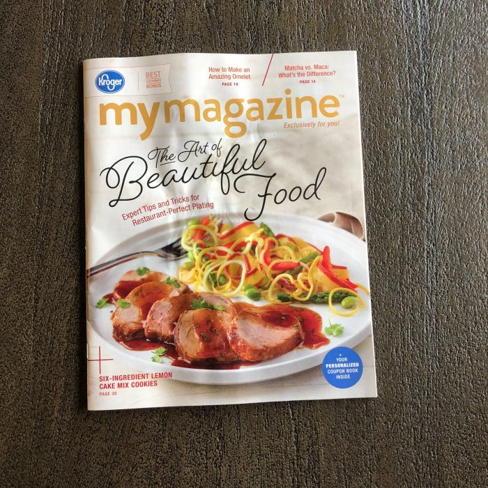 A photo of Kroger MyMagazine