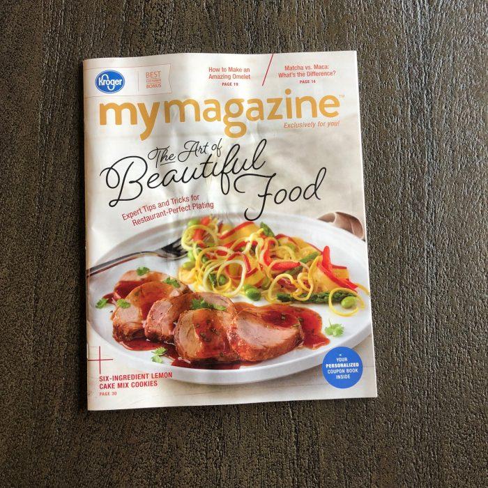 A photo of Kroger MyMagazine
