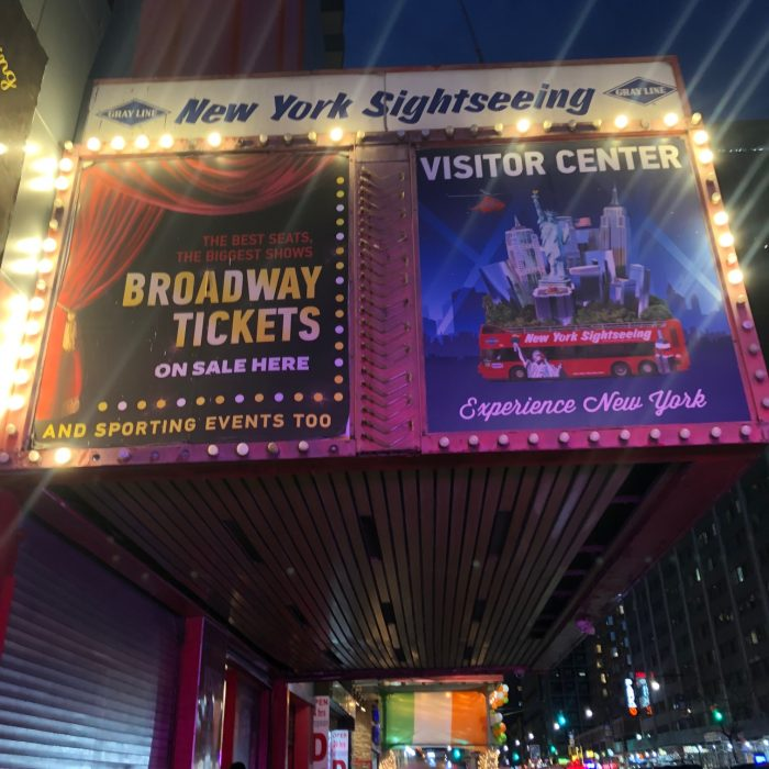 Sign of Broadway Tickets